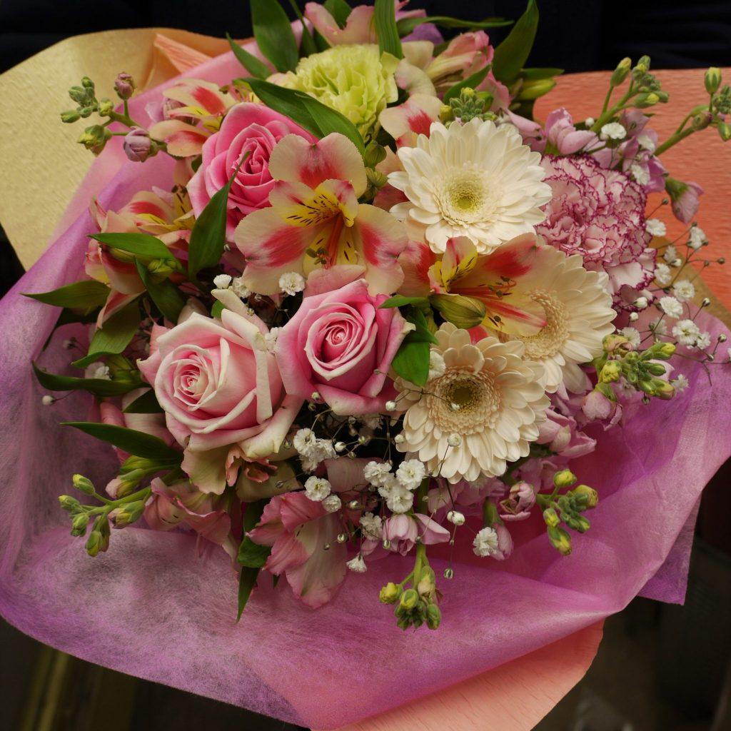プレゼント用の花