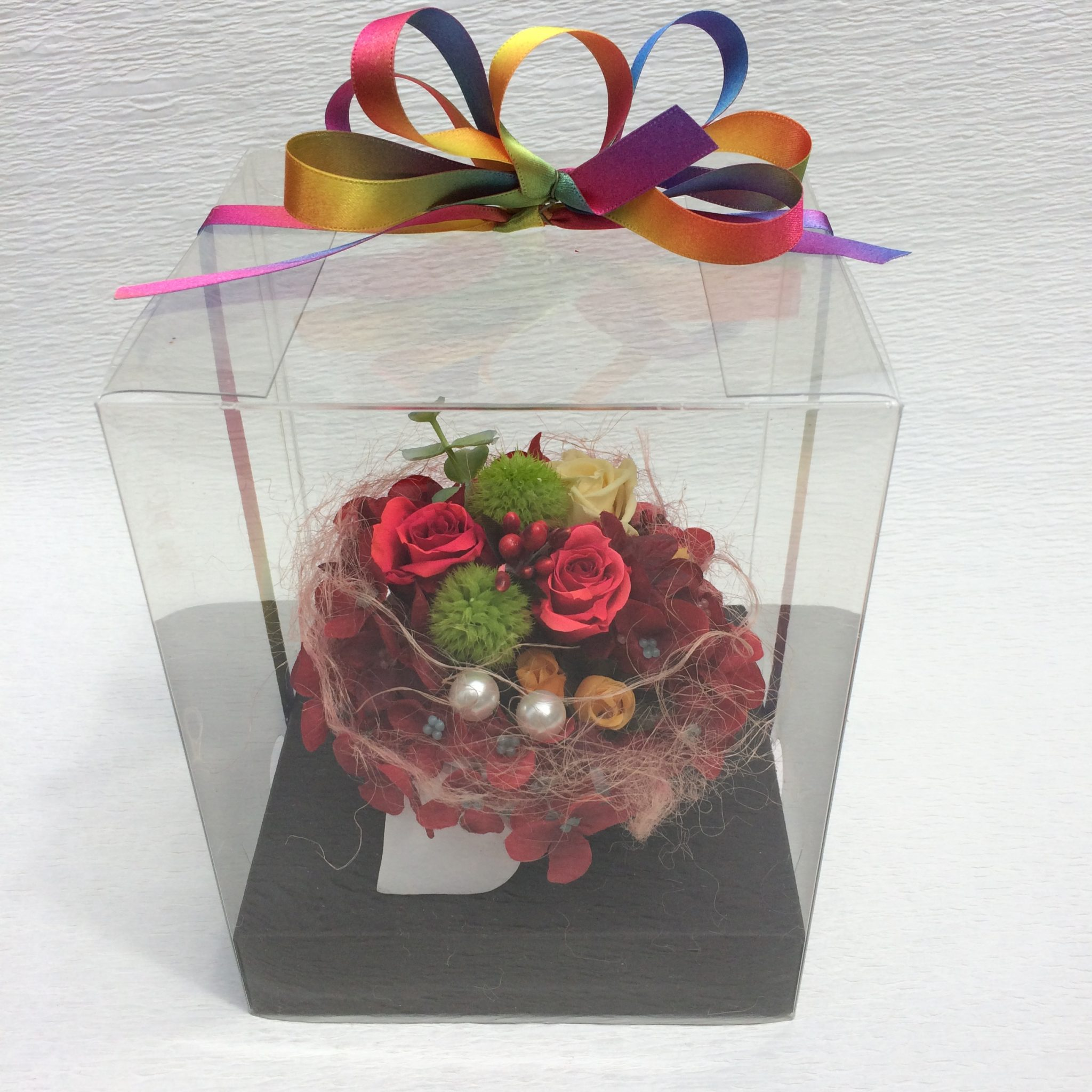 プリザーブドフラワー(カラフル)3000円