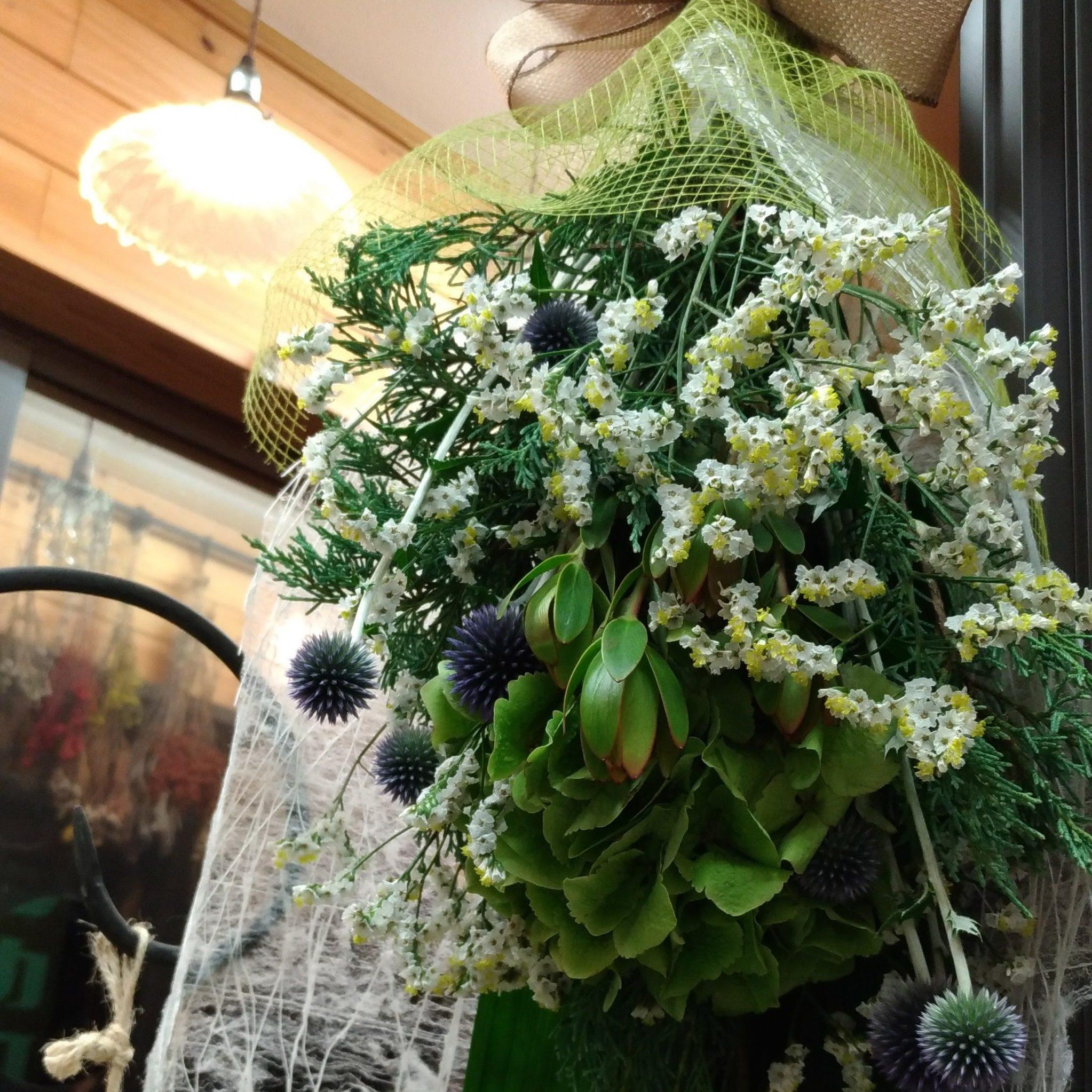 dry flower花束3000円+税