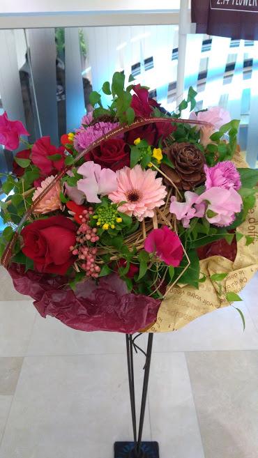 フラワーバレンタイン2019 憧れ 花のアトリエ