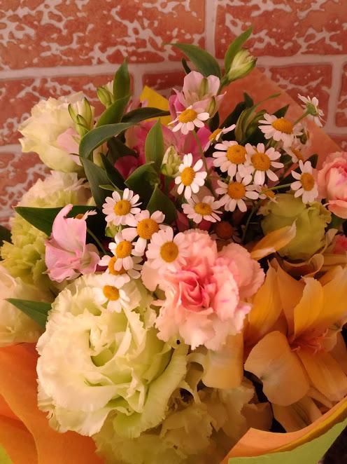 カーネーションの花束3