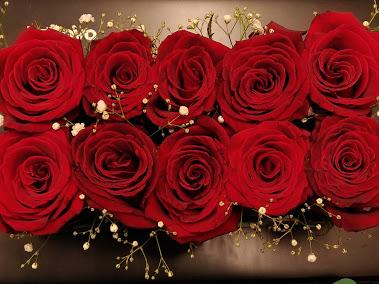 10輪のバラ