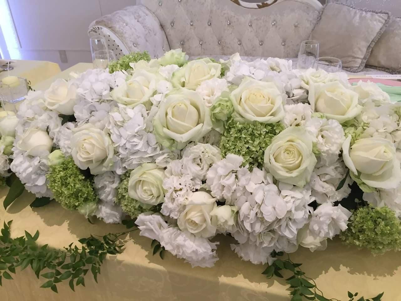 ウエディング装飾花