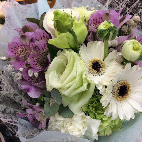 ガーベラ花束3